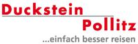 Reisen erleben mit Duckstein-Pollitz Logo