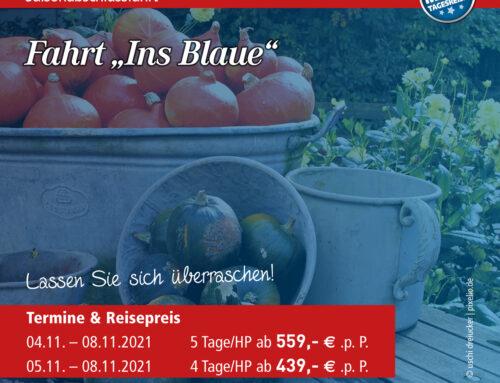 """Fahrt """"Ins Blaue"""""""