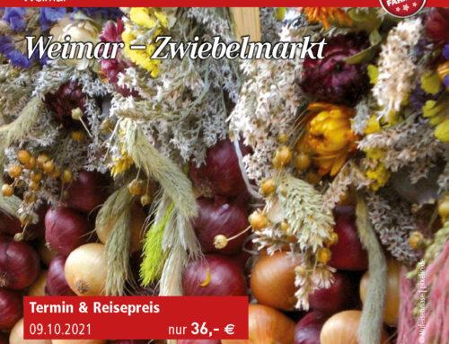Weimar – Zwiebelmarkt