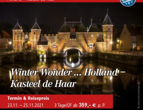 Winter Wonder … Holland – Kasteel de Haar